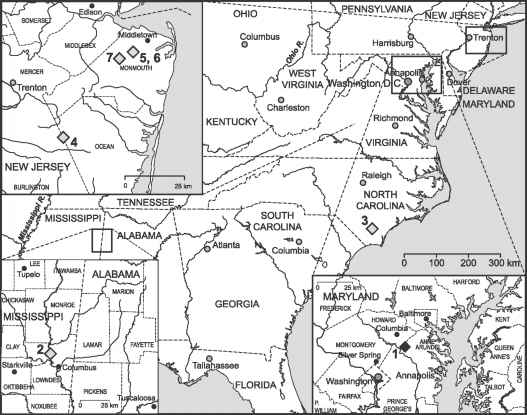 Arundel Formation Potomac Group Map